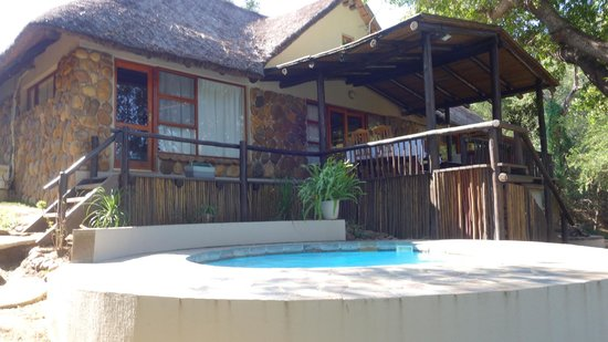 Kuname Lodge: The Manor House at he Kuname River Lodge, with our own private pool