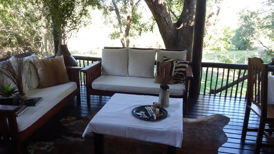 Kuname Lodge: The other side of our veranda