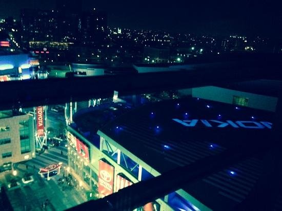 JW Marriott Los Angeles L.A. LIVE: night view