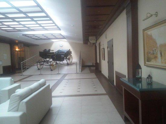 New Peterhof Hotel : Холл отеля