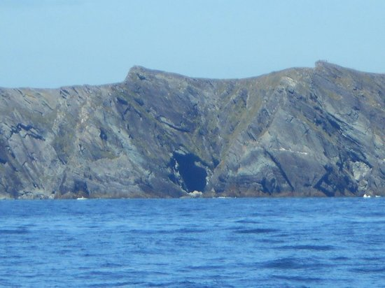 Portmagee, Irlande : Kerry cliffs from the Atlantic