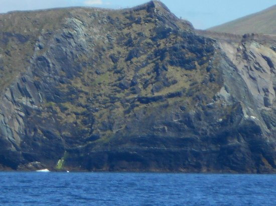 Kerry Cliffs : From the sea below