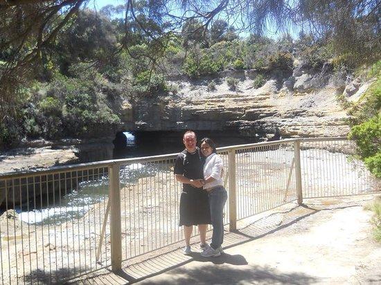 Tasman National Park: Damien peter Auksorius at eagle hawk neck