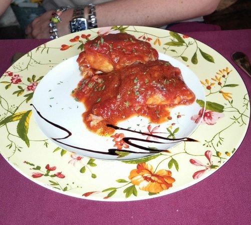 Casa Carmela: bacalao con tomate