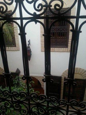 Riad Itrane : Vista dalla camera