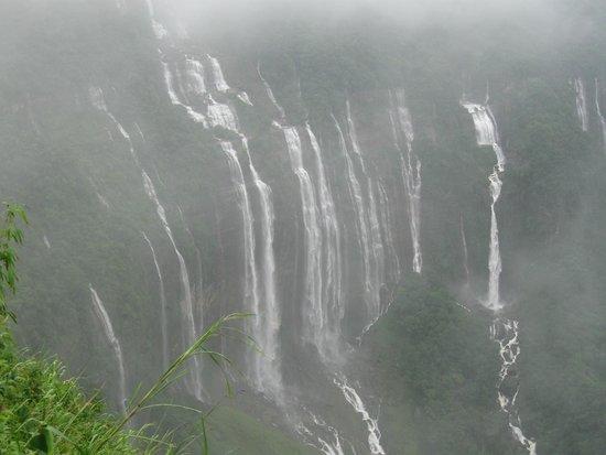 Meghalaya, Índia: Seven Sister Falls