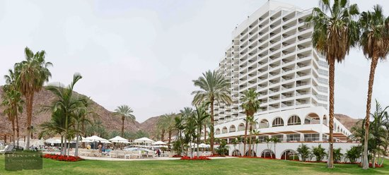 Eilat Princess Hotel : view of hotel