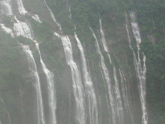 Shillong Peak : Seven sister falls