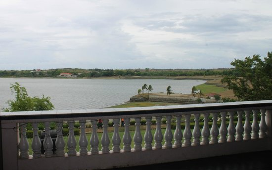 Paoay Lake National Park: lake viewed from the balcony