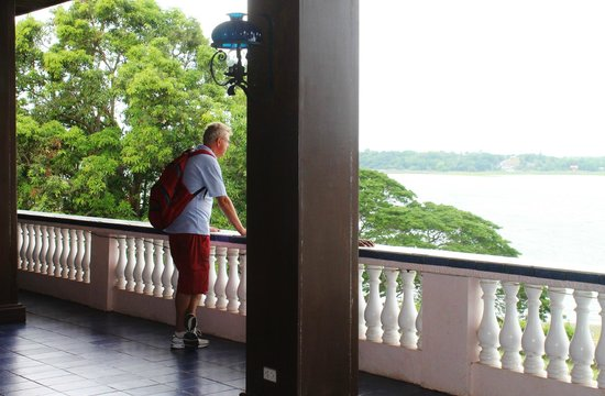 Paoay Lake National Park: scenic beauty from a distance