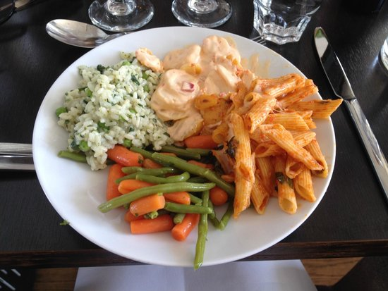 Van der Valk Brussels Airport : A selection for the first plate