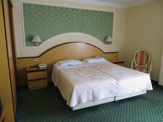 Palace Hotel Meggiorato : Camera confort con balcone