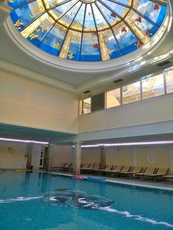 Palace Hotel Meggiorato : Particolare della cupola sulla piscina