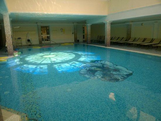 Palace Hotel Meggiorato: Particolare della piscina coeprta