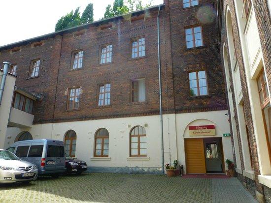 Picobello Pension: Der Gebäudetrakt mit den Zimmern