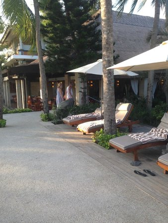 Bali Mandira Beach Resort & Spa: Sundeck