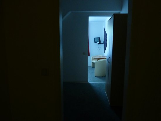 Picobello Pension, Blick ins Zimmer