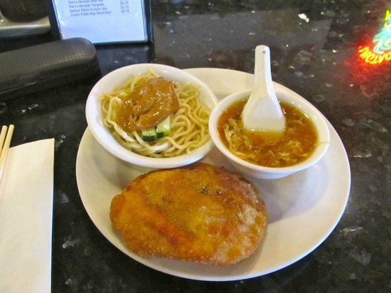 Brandy Ho's Hunan Food : #2 lunch special apps