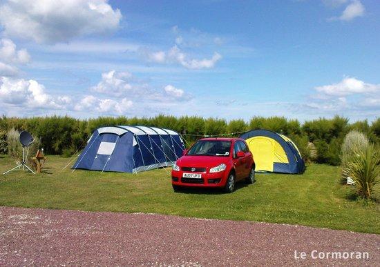 Camping Le Cormoran: Emplacement de camping