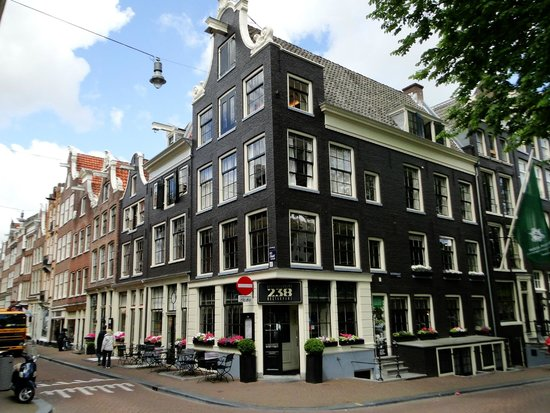 Hotel Pulitzer Amsterdam: The restaurant.