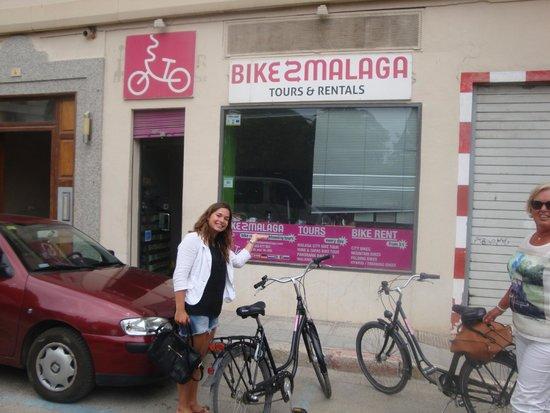 Bike Tours Malaga We Bike Malaga: Dainy van Bike2Malaga