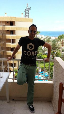 Apartamentos Caribe: beach view