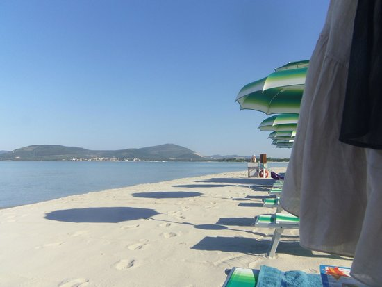 Residenza Gli Eucalipti: plage MAria Pia