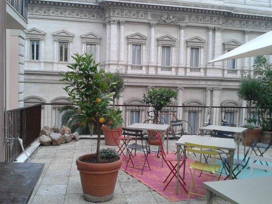 Hotel Salotto Monti.Terrazza Picture Of Salotto Monti Rome Tripadvisor