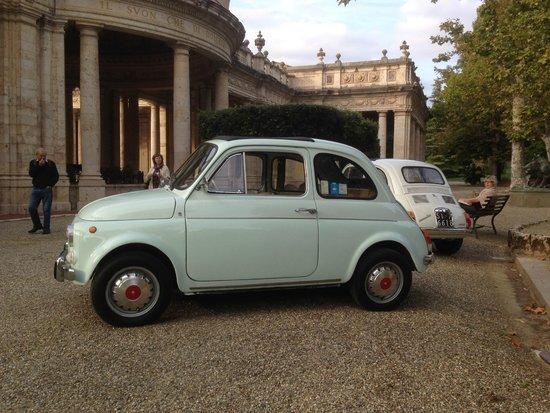 Chianti 500 Rentals: Our vintage Fiat 500 Giannini