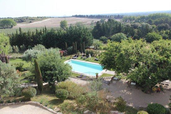 La Maison - Domaine De Bournissac : vue de la chambre