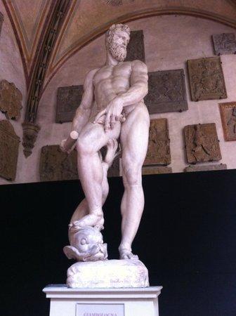 Museo Nazionale del Bargello: Oceano del Giambologna