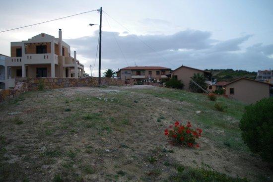 Sun Village Beach Hotel Apartments : hotellområdet
