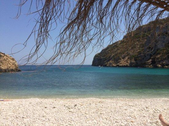 Playa La Granadella: Impresionante