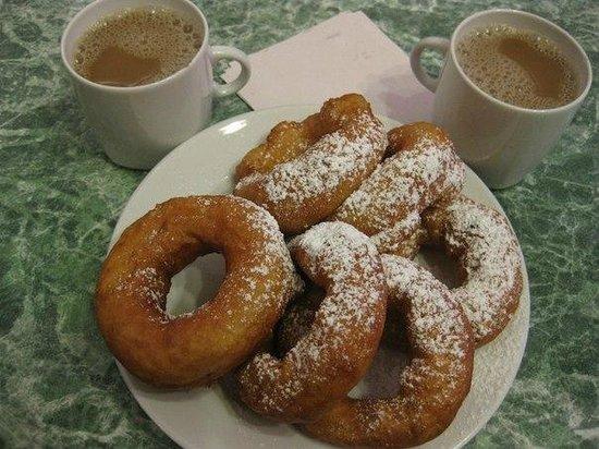 Pyshechnaya: вкусные пышки.
