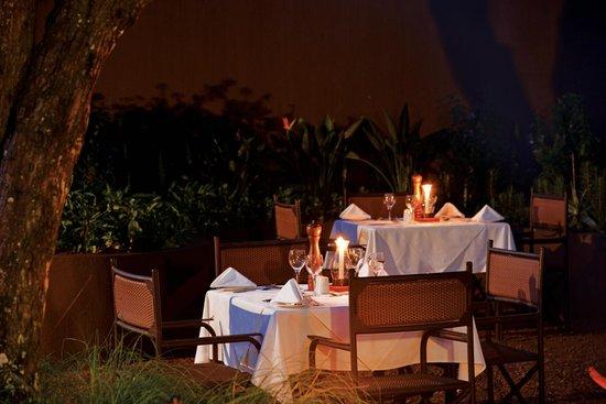 Falaza Game Park & Spa: Outside Boma Dining