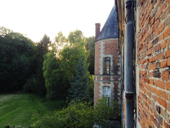 Fosseuse, France : View from Room