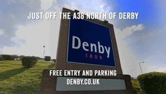 Denby Pottery Factory: The Denby Visitor Centre
