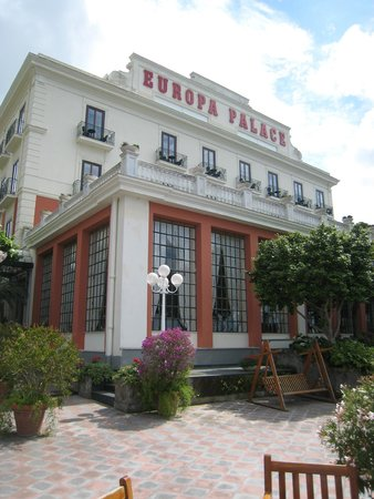 Europa Palace Grand Hotel : The Hotel