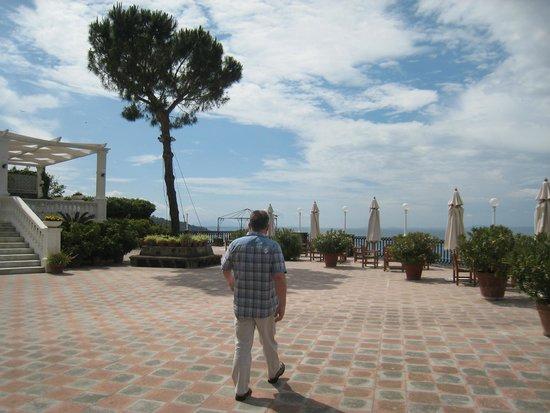 Europa Palace Grand Hotel: Lovely terrace - suntrap