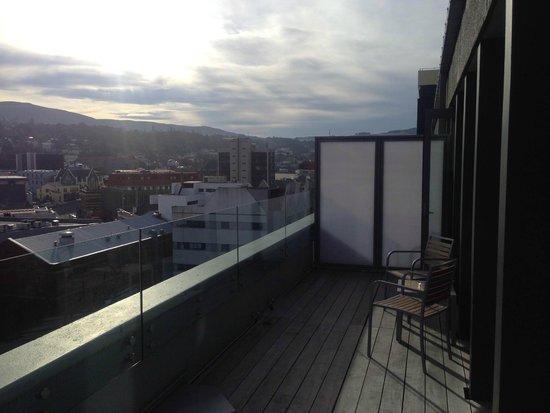 Scenic Hotel Dunedin City: Facing the Octagon