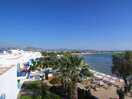 Saint George Hotel: utsikt fra terrassen