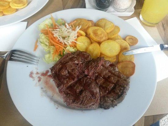 Vacamuuu: Dinner - Delmonico steak