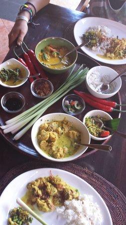 Bumbu Bali 1 : Mittagessen ;)