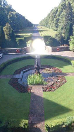 Coombe Abbey Hotel: View from our Room