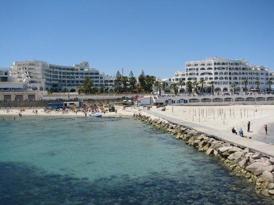Delphin El Habib : пляж