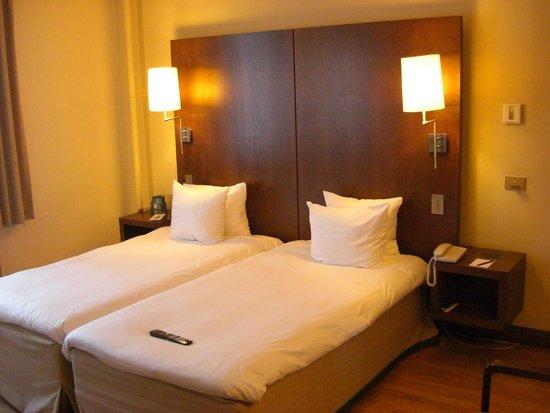 Hilton Brussels City : kamer