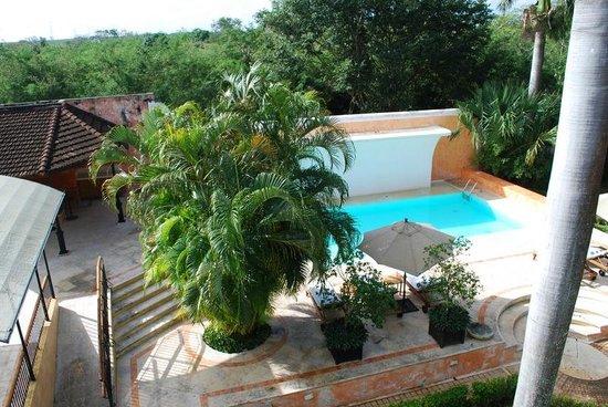 Hacienda Xcanatun: View from room
