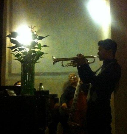Hacienda Xcanatun: Great Trumpeter!