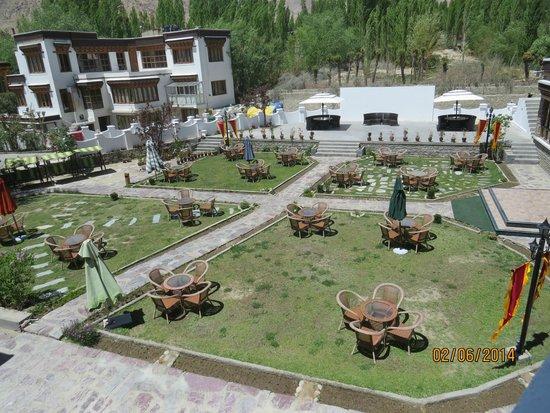 The Grand Dragon Ladakh: The lawn