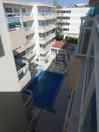 Apartmentos Playa Sol I : vistas terraza